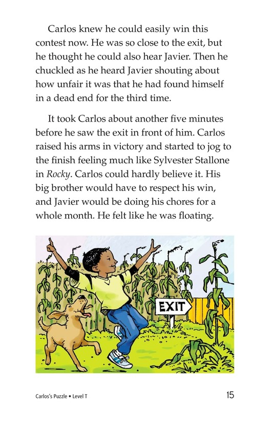 Book Preview For Carlos's Puzzle Page 15