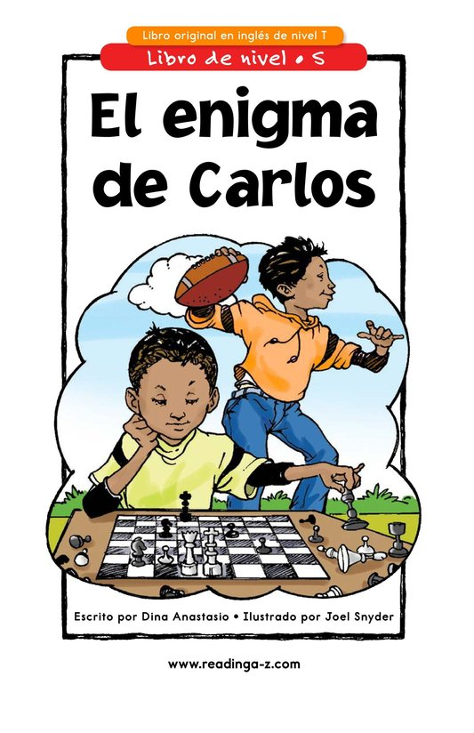 Book Preview For Carlos's Puzzle Page 1
