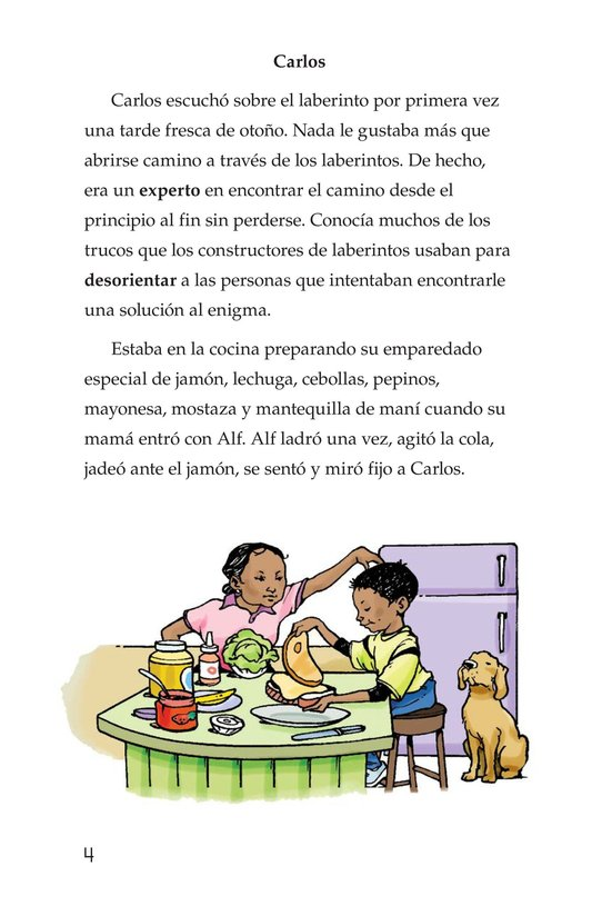 Book Preview For Carlos's Puzzle Page 4