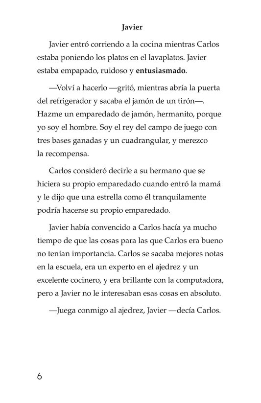 Book Preview For Carlos's Puzzle Page 6