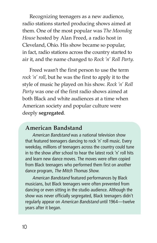 Book Preview For Early Moments in Rock Music History Page 10
