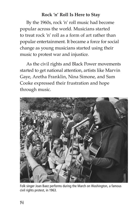 Book Preview For Early Moments in Rock Music History Page 14