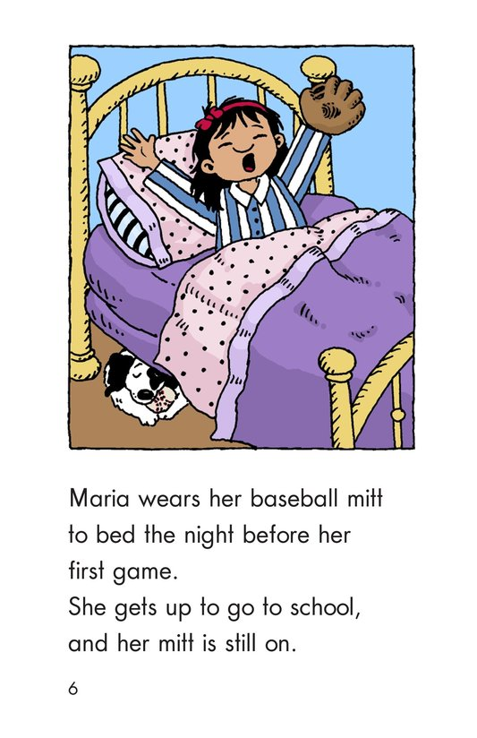 Book Preview For Maria Joins the Team Page 6