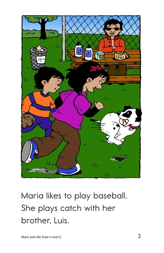 Book Preview For Maria Joins the Team Page 3