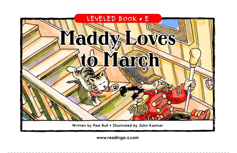 Book Preview For Maddy Loves to March Page 1