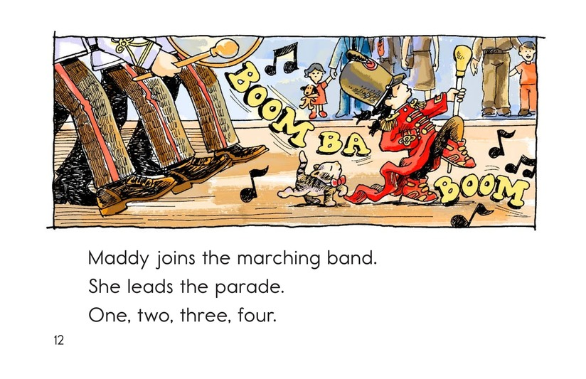 Book Preview For Maddy Loves to March Page 12