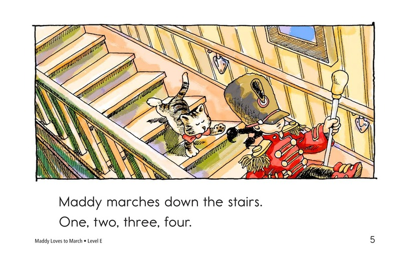 Book Preview For Maddy Loves to March Page 5