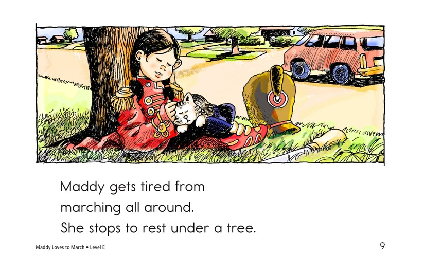 Book Preview For Maddy Loves to March Page 9