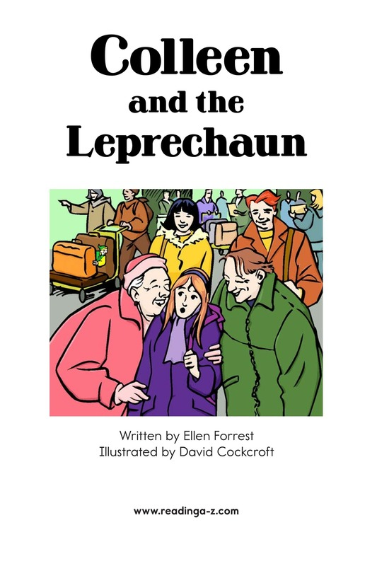Book Preview For Colleen and the Leprechaun Page 2