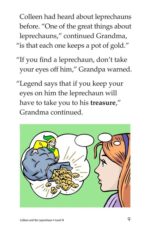 Book Preview For Colleen and the Leprechaun Page 9