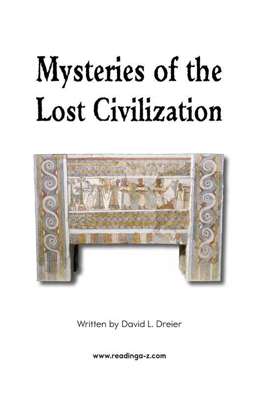 Book Preview For Mysteries of the Lost Civilization Page 2