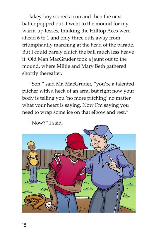 Book Preview For Miltie Math-head Takes the Mound Page 18