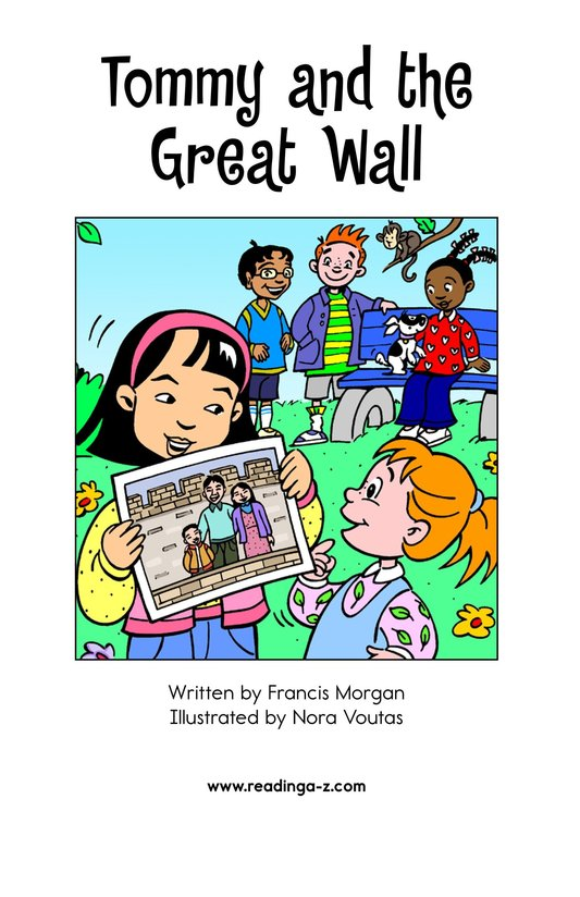 Book Preview For Tommy and the Great Wall Page 2