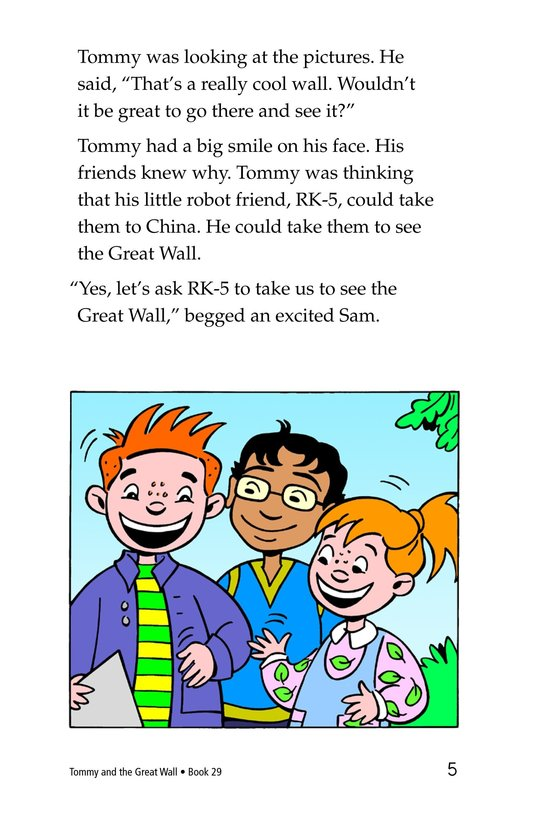 Book Preview For Tommy and the Great Wall Page 5