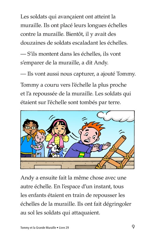 Book Preview For Tommy and the Great Wall Page 9