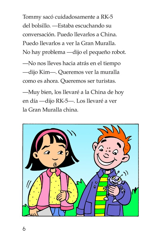 Book Preview For Tommy and the Great Wall Page 6
