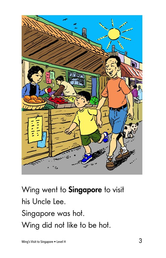 Book Preview For Wing's Visit to Singapore Page 3