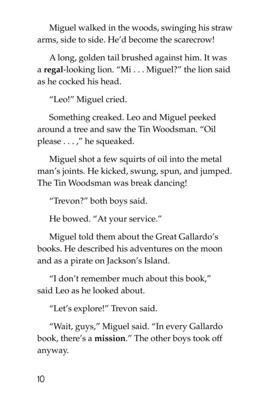 Book Preview For Yellow Brick Roadies Page 10