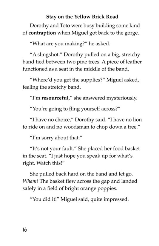 Book Preview For Yellow Brick Roadies Page 16