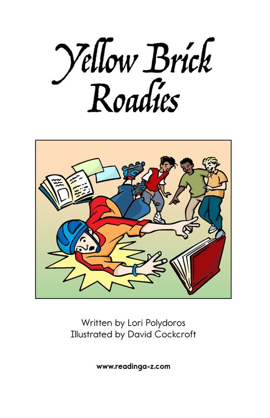 Book Preview For Yellow Brick Roadies Page 2