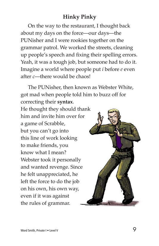 Book Preview For Word Smith, Private I Page 9