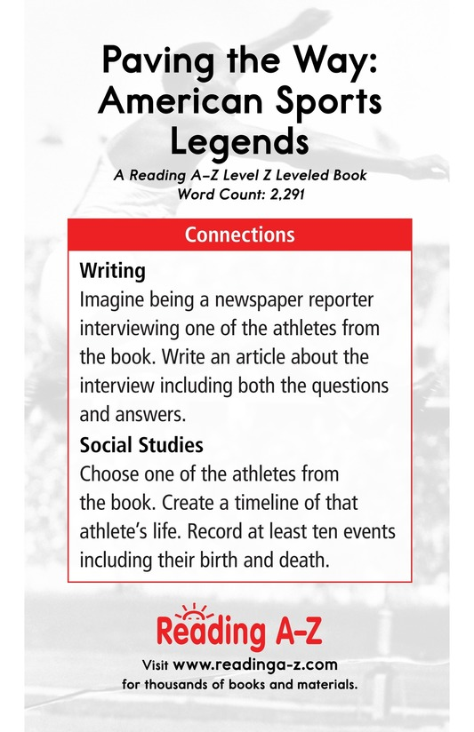 Book Preview For American Sports Legends Page 25