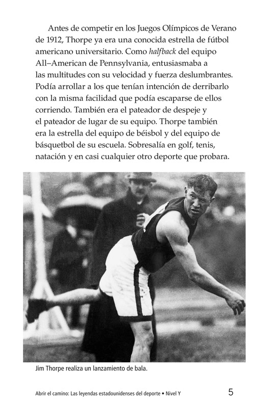Book Preview For American Sports Legends Page 5