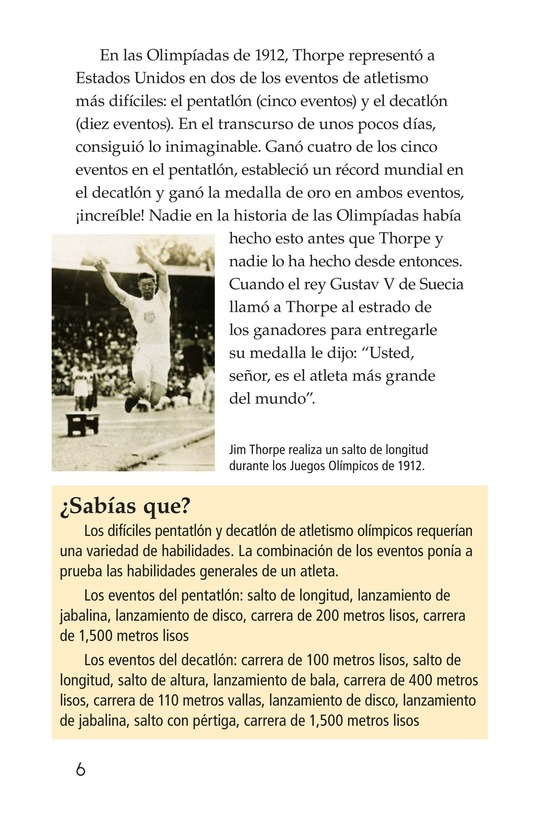 Book Preview For American Sports Legends Page 6