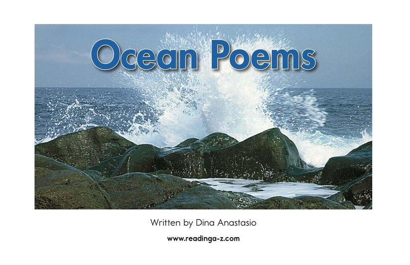 Book Preview For Ocean Poems Page 2