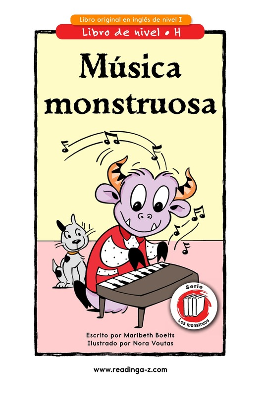 Book Preview For Monster Music Page 1