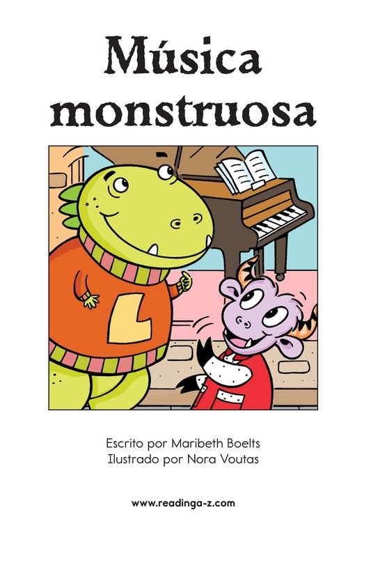 Book Preview For Monster Music Page 2