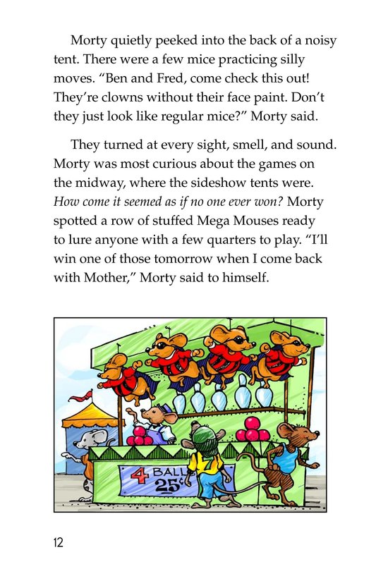 Book Preview For Morty and the Oatmeal Babysitter Page 12
