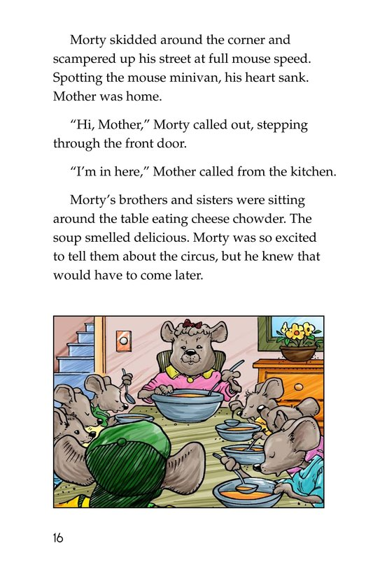 Book Preview For Morty and the Oatmeal Babysitter Page 16
