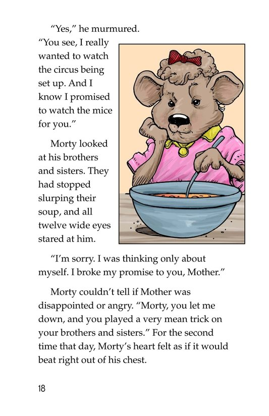 Book Preview For Morty and the Oatmeal Babysitter Page 18