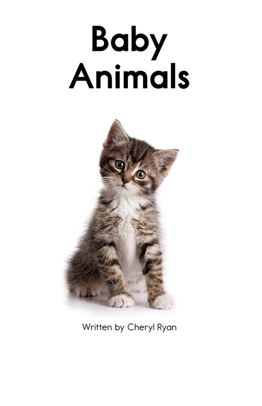 Book Preview For Baby Animals Page 2