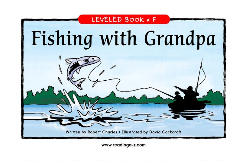 Book Preview For Fishing with Grandpa Page 1