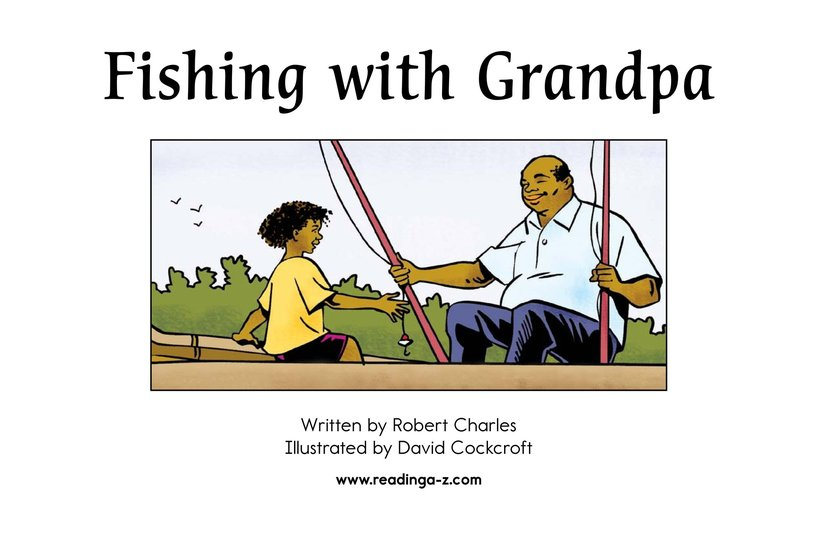 Book Preview For Fishing with Grandpa Page 2