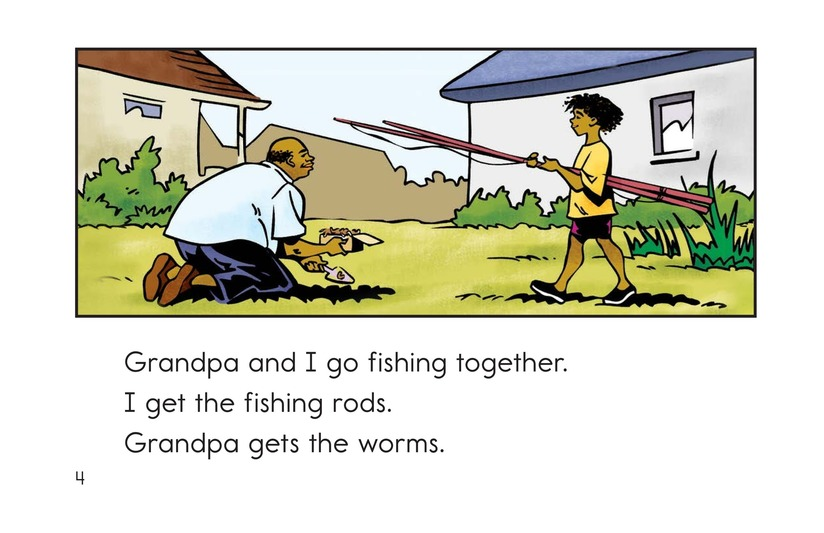 Book Preview For Fishing with Grandpa Page 4
