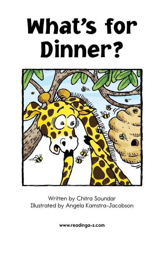 Book Preview For What's for Dinner? Page 2