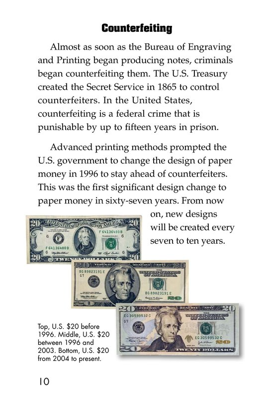 Book Preview For Money in the USA Page 10