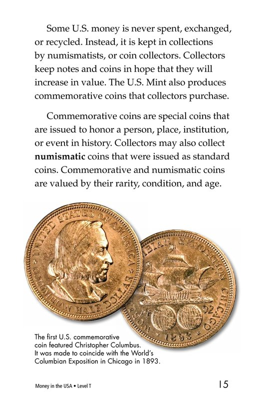 Book Preview For Money in the USA Page 15
