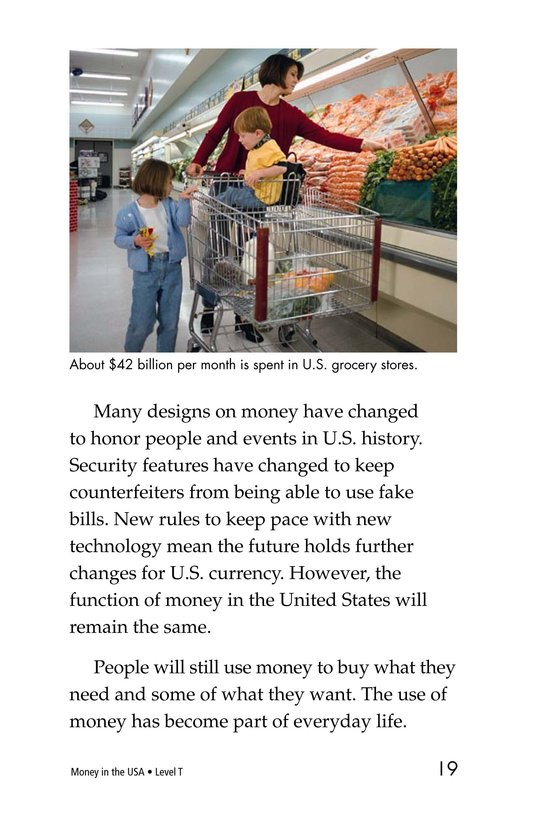 Book Preview For Money in the USA Page 19