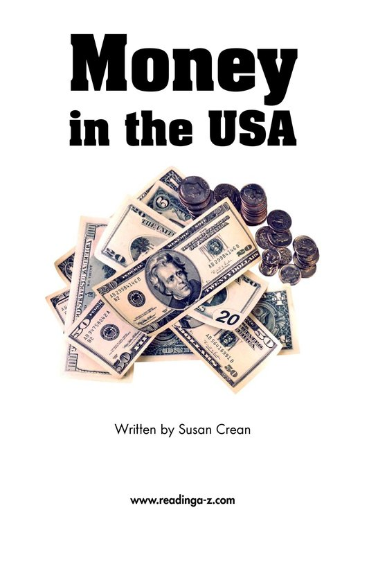 Book Preview For Money in the USA Page 2