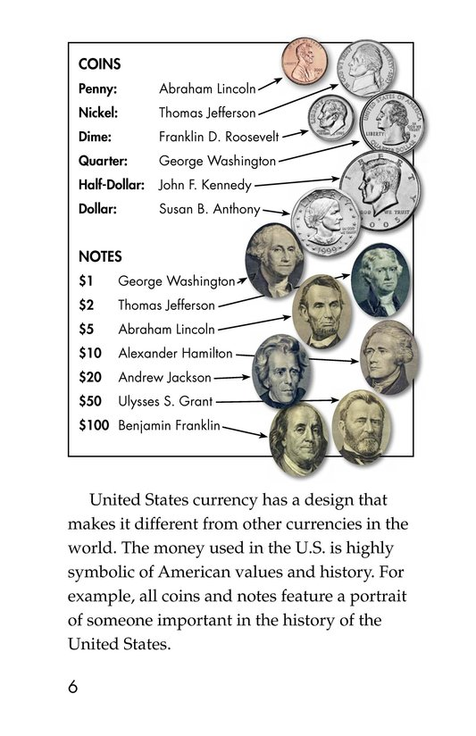 Book Preview For Money in the USA Page 6