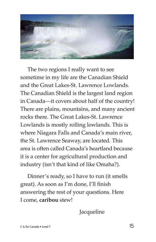Book Preview For C Is for Canada Page 15