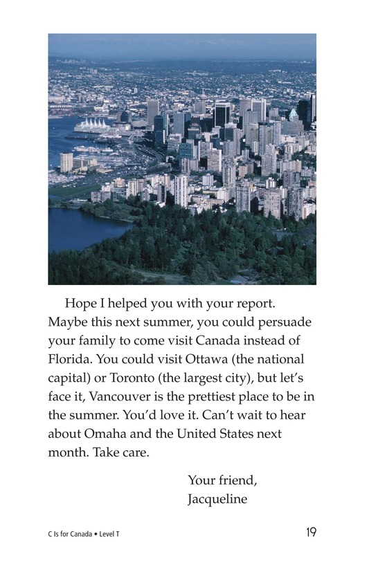 Book Preview For C Is for Canada Page 19