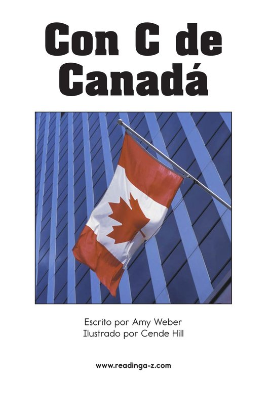 Book Preview For C Is for Canada Page 2