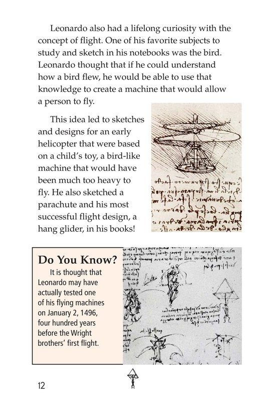 Book Preview For The Legacy of da Vinci Page 12