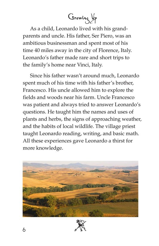 Book Preview For The Legacy of da Vinci Page 6