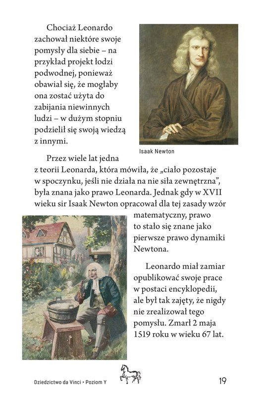 Book Preview For The Legacy of da Vinci Page 19